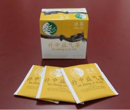 Chá para Tonificar o Centro e Fortalecer o Qi - Bǔ zhōng yì qì chá (Amarelo)