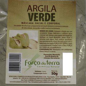 Argila Verde de 50 g - Força da Terra