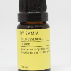 Óleo Essencial Cedro 10 Ml - By Samia