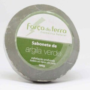 Sabonete de Argila Verde - Força da Terra