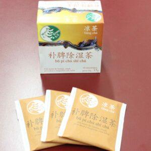 Chá para Tonificar o Baço e Eliminar a Umidade - Bu pí chú shi chá (Amarelo Mesclado)