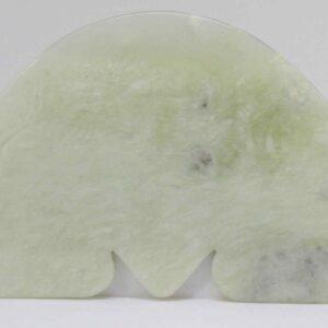Gua Sha Pedra de Jade (Meia Lua)