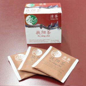 Chá para apoiar o Yang - Fú ýang chá (Vermelho Escuro)