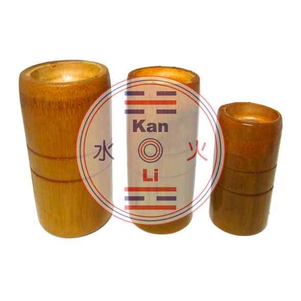 Ventosa de Bambu - Kit com 3