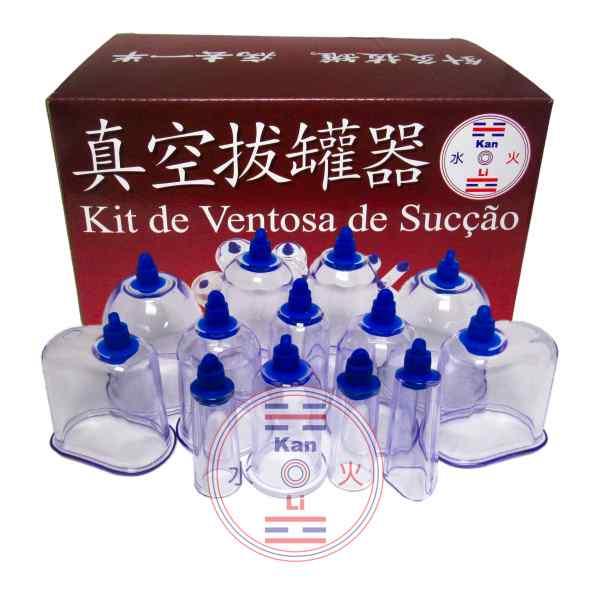 Ventosa de Acrílico  Kanli -  Kit Especial com 13 copos